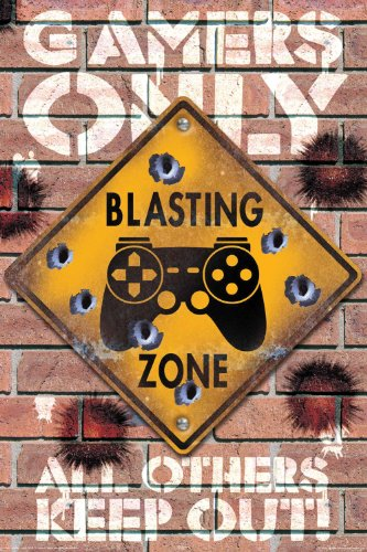NMR 24991 Blasting Zone Decorative Poster