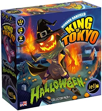 Iello - 331586 - Jeu De Cartes - King Of Tokyo - Halloween Monster Expansion