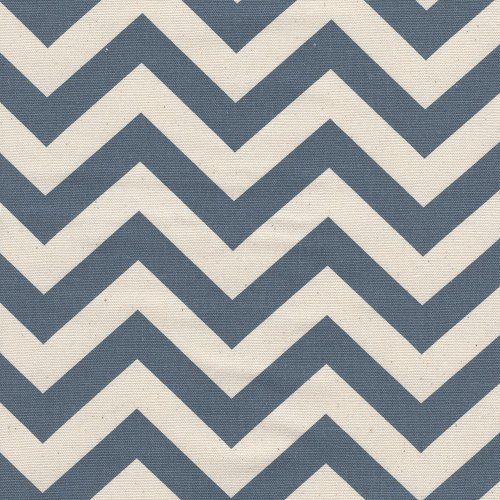"""Tailored 15"""" Zigzag Chevron Denim Natural Cal King Bedskirt Cotton front-1009285"""