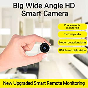 Melesplus Home Security Camera System with Motion Detection, HD Video Two-Way Audio Hidden Camera