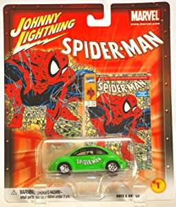 Johnny Lightning Marvel Series Spider-Man 1998 VW Beetle