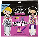 Fashion Design Paper Doll Kit