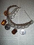 Charm Bracelet - Amber Design