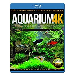 AQUARIUM 4K - The Beautiful South American Aquarium [Blu-ray]