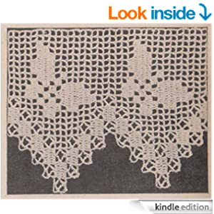 Crochet Patterns On Amazon : Edging Filet Crochet Pattern - Kindle edition by Charlie Cat Patterns ...