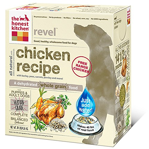 The Honest Kitchen Revel Chicken and Whole Grain Dog Food, 10-Pound