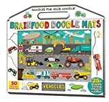 img - for Brainfood Doodle Mats: Vehicles book / textbook / text book