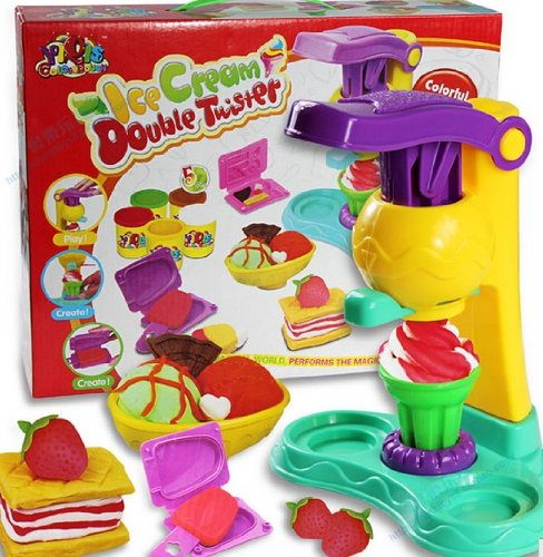 1 X Colourful Ice Cream Plasticine Development Baby Toys K0016-1