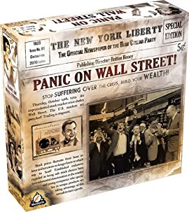 Panic on Wall Street Board Game