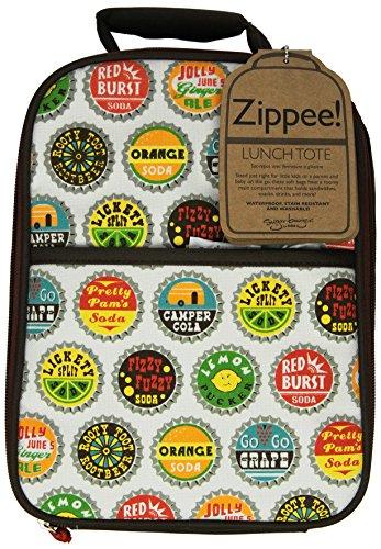 SugarBooger Zippee Lunch Tote, Bottle Cap
