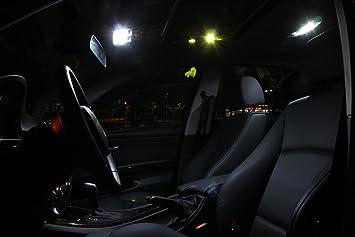 Jeep Wrangler 2007 2013 Xenon White Premium Led Interior Lights Package Kit 5 Pieces