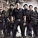 Printhook The Expendables 3 All Stars Action Movie- A3 Size Poster Art