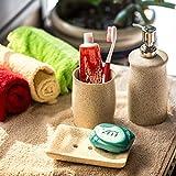 ExclusiveLane Toothpick Holder Soap Dispenser Tooth Brush Holder Soap Holder - Toothpick Holder Soap Dispenser Tooth Brush Holder Soap Holder