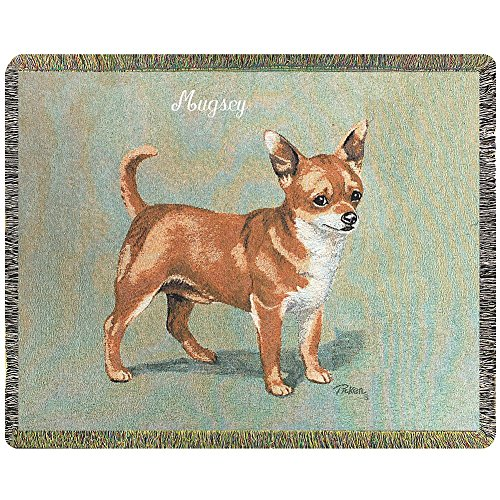 Chihuahua - Personalized Dog Breed Throw Blanket, Handcrafted Canine Pride