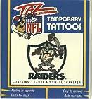 Taz in the NFL Oakland Raiders Temporary Tattoos