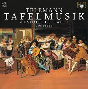 Telemann: Tafelmusik (Complete) [Box Set]