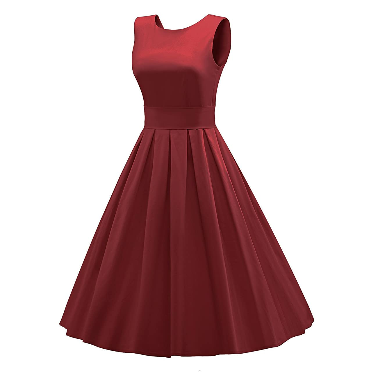 LUOUSE 'Lana' Vintage 1950's Inspired Rockabilly Swing Dress 1