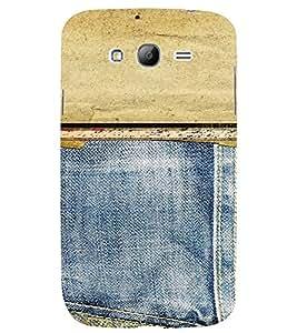 PrintVisa Denim Pattern 3D Hard Polycarbonate Designer Back Case Cover for Samsung Galaxy Grand