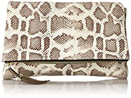 Vince Camuto Val Clutch, Truffle, One Size