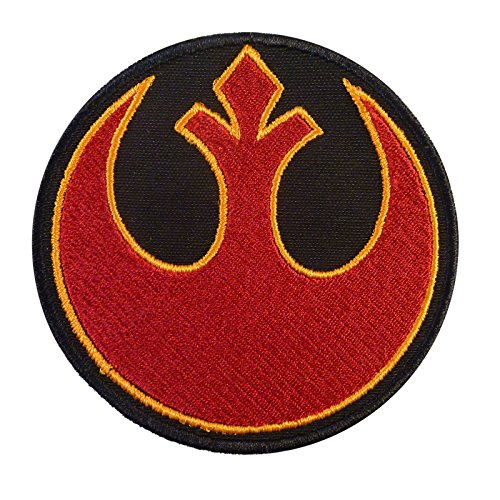 Rebel Alliance Star Wars Embroidered Velcro Toppa Patch