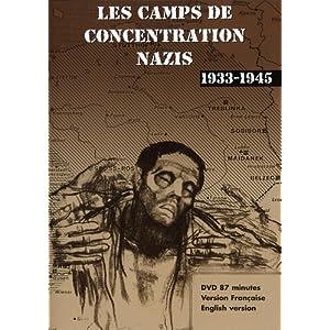Les camps de concentration nazis (1933-1945) affiche