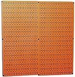 Wall Control 30-P-3232OR Orange Metal Pegboard Pack