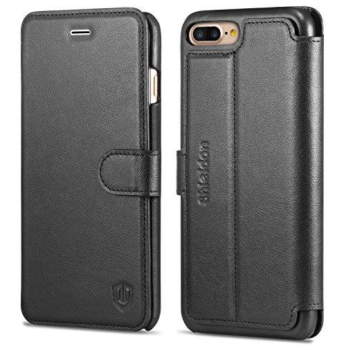 Etui iphone 7 plus shieldon ultra slim housse pochette for Housse iphone 7 plus cuir