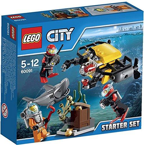 LEGO City - Set de introducción Exploración submarina, multicolor (60091)