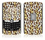 Leopard Print Decorative Skin Cover Decal Sticker for BlackBerry World 8800 8820 8830 Cell Phone