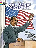 History of the Civil Rights Movement Coloring Book (Dover History Coloring Book)