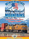 American Trains-Winter in the Blue Mountains