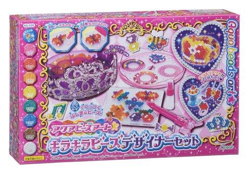 Aqua Beads art ☆ glitteringly beads designer set AQ-S29