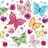 Maki - Servietten - SLOG 023601 - bunte Schmetterlinge und