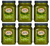 Classic Basil Pesto (Pack of 6 x 470g Food Service Sized Tubs) by Sacla'