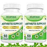 Morpheme Arthritis Support For Joint & Muscle Support - 600mg Extract - 60 Veg Capsules - 2 Combo Pack