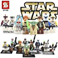 Star Wars Compatible Constructor Set 8 Action Figures - Troops Mini Figurine