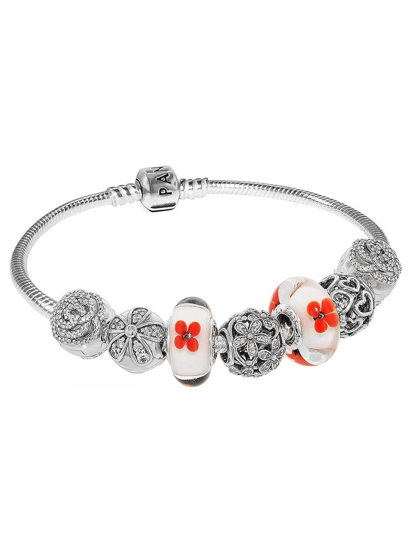Pandora Damen-Armband Mohnblume 50347 jetzt bestellen