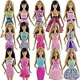 E-TING 1/6 Doll ドール 人形 フィギュア 用 ファッション ミニドレス5 点セット 手作りショート パーティー ドレス