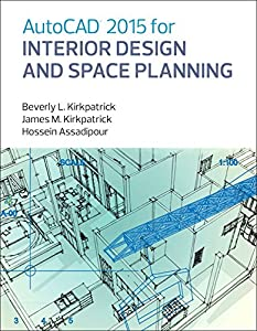 AutoCAD 2015 for Interior Design and Space Planning from Peachpit Press