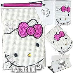 Jersey Bling® Crystal Pearl Kitty Google Nexus 7