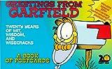 Greetings from Garfield: A Book of Postcards : Twenty Years of Wit, Wisdom, and Wisecracks (0836254287) by Davis, Jim