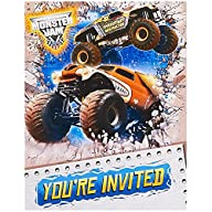 Monster Jam 3D Invitations (8) by Par…