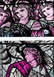A Burne-Jones Postcard Book: 8 Cards Stained Glass