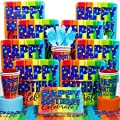 A Year To Celebrate 80Th Birthday Deluxe Kit - Party Supplies WLM