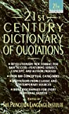 21st Century Dictionary of Quotations (21st Century Reference) (0440214475) by Princeton Lang Inst