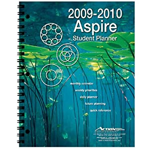 2009/2010 Aspire Student Agenda Day Planner Action Publishing and Grady Busse