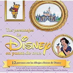 Kit. Tus Personajes Favoritos De Disney En Punto De Cruz (Kits)