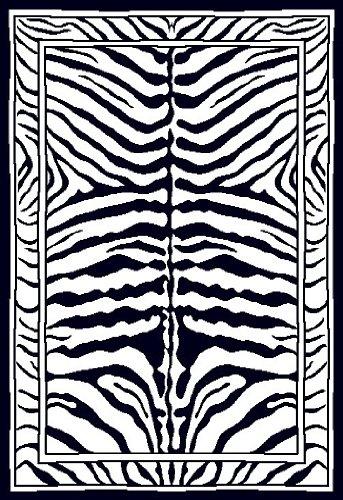 Home Dynamix Area: Zone Rug: 7160: Zebra Rug 3' 7