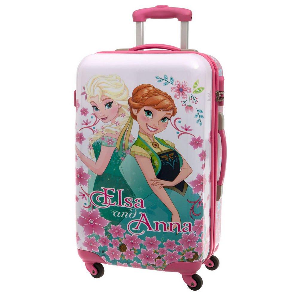 Die Eiskönigin ABS Koffer Kindergepäck, 53 Liter, Pink günstig online kaufen