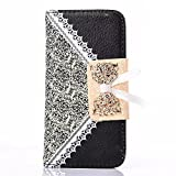 Luv You Samsung Galaxy S3/i9300 Case,Black Deluxe Lady Girl Woman Fresh Sweet LV-YO Design Premium Lace PU Leather... by iphone case/cables LV YO